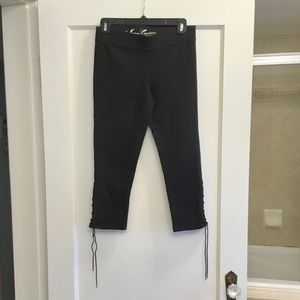 Juicy Couture Jean capris with side detail